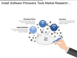 Install Software Primavera Tools Market Research Project Costing
