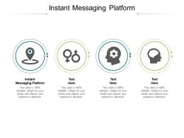 Instant Messaging Platform Ppt Powerpoint Presentation Layouts Gridlines Cpb