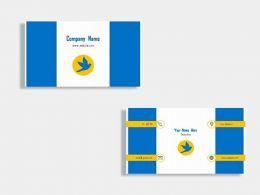 Institute Of Arts Business Card Design Template