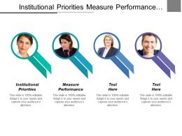 Institutional Priorities Measure Performance Educational Development Expansion Plantation