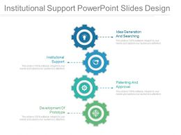 Institutional Support Powerpoint Slides Design