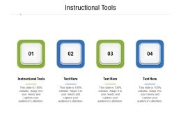 Instructional Tools Ppt Powerpoint Presentation Show Good Cpb