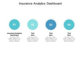 Insurance Analytics Dashboard Ppt Powerpoint Presentation Show Graphics Download Cpb