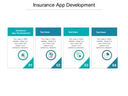 Insurance App Development Ppt Powerpoint Presentation Visual Aids Files Cpb