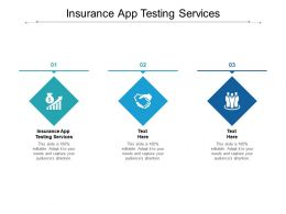 Insurance App Testing Services Ppt Powerpoint Presentation Portfolio Structure Cpb