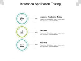 Insurance Application Testing Ppt Powerpoint Presentation Slides Backgrounds Cpb