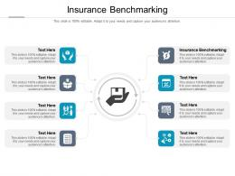Insurance Benchmarking Ppt Powerpoint Presentation Infographics Format Cpb