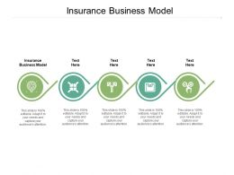 Insurance Business Model Ppt Powerpoint Presentation Inspiration Influencers Cpb