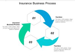 Insurance Business Process Ppt Powerpoint Presentation Ideas Professional Cpb