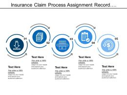 Insurance Claim Process Assignment Record Investigation Pay