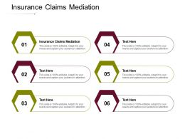 Insurance Claims Mediation Ppt Powerpoint Presentation Icon Background Cpb
