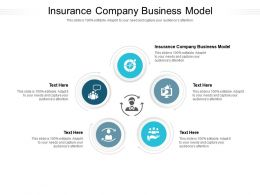Insurance Company Business Model Ppt Powerpoint Presentation Infographics Design Inspiration