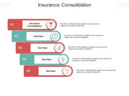 Insurance Consolidation Ppt Powerpoint Presentation Inspiration Cpb