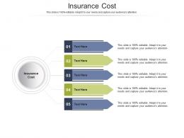 Insurance Cost Ppt Powerpoint Presentation Infographics Cpb