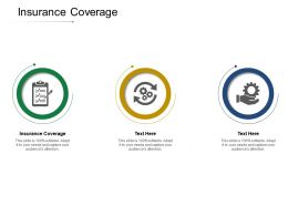 Insurance Coverage Ppt Powerpoint Presentation Infographics Guidelines Cpb