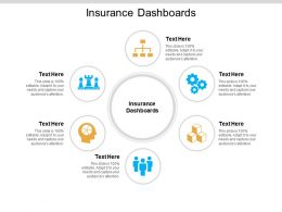 Insurance Dashboards Ppt Powerpoint Presentation Inspiration Themes Cpb