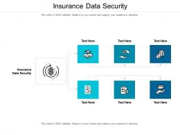 Insurance Data Security Ppt Powerpoint Presentation Ideas Graphic Tips Cpb