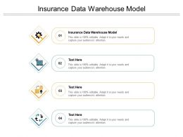 Insurance Data Warehouse Model Ppt Powerpoint Presentation Pictures Guide Cpb
