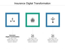 Insurance Digital Transformation Ppt Powerpoint Presentation File Themes Cpb