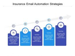 Insurance Email Automation Strategies Ppt Powerpoint Presentation File Styles Cpb