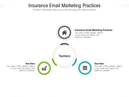 Insurance Email Marketing Practices Ppt Powerpoint Presentation Infographics Influencers Cpb