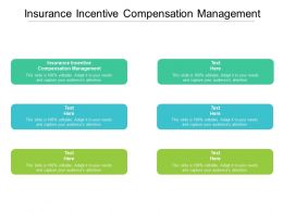 Insurance Incentive Compensation Management Ppt Powerpoint Presentation File Pictures Cpb