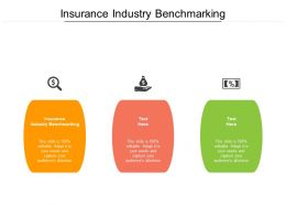 Insurance Industry Benchmarking Ppt Powerpoint Presentation Layouts Cpb