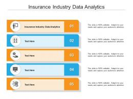 Insurance Industry Data Analytics Ppt Powerpoint Presentation Outline Templates Cpb