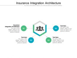 Insurance Integration Architecture Ppt Powerpoint Presentation Ideas Gridlines Cpb