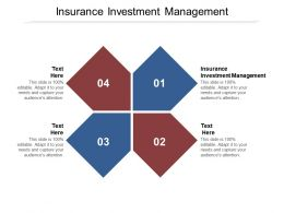 Insurance Investment Management Ppt Powerpoint Presentation Show Layout Cpb
