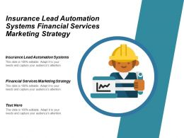 Insurance Lead Automation Systems Financial Services Marketing Strategy Cpb