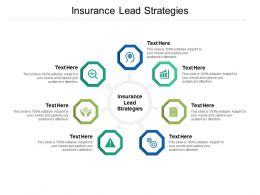 Insurance Lead Strategies Ppt Powerpoint Presentation Outline Professional Cpb