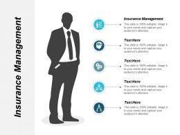 Insurance Management Ppt Powerpoint Presentation Gallery Master Slide Cpb