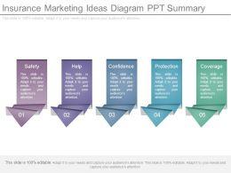 Insurance Marketing Ideas Diagram Ppt Summary