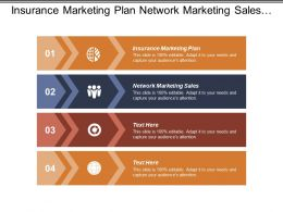 Insurance Marketing Plan Network Marketing Sales B2b Branding Cpb