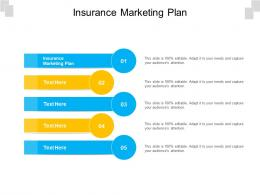 Insurance Marketing Plan Ppt Powerpoint Presentation Professional Images Cpb