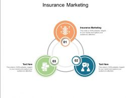 Insurance Marketing Ppt Powerpoint Presentation Pictures Infographic Template Cpb