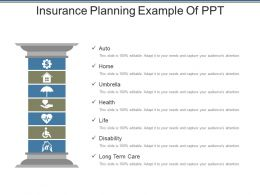 Insurance Planning Example Of Ppt