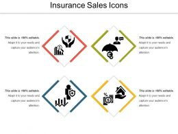 Insurance Sales Icons