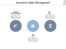 Insurance Sales Management Ppt Powerpoint Presentation Infographic Template Example Cpb