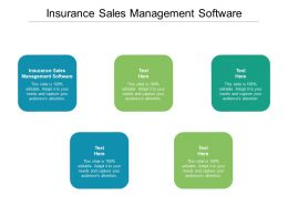 Insurance Sales Management Software Ppt Powerpoint Presentation Visual Aids Ideas Cpb