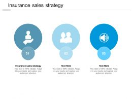 Insurance Sales Strategy Ppt Powerpoint Presentation Slides Graphic Images Cpb
