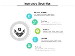 Insurance Securities Ppt Powerpoint Presentation Summary Slideshow Cpb