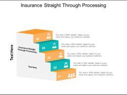 Insurance Straight Through Processing Ppt Powerpoint Presentation Professional Graphics Design Cpb