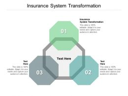 Insurance System Transformation Ppt Powerpoint Presentation Infographics Layout Cpb