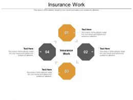 Insurance Work Ppt Powerpoint Presentation Professional Microsoft Cpb