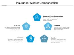 Insurance Worker Compensation Ppt Powerpoint Presentation Visual Aids Styles Cpb