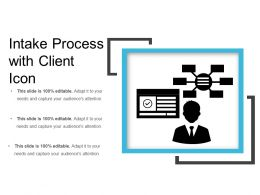 Intake Process With Client Icon