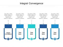 Integral Convergence Ppt Powerpoint Presentation Outline Background Image Cpb