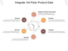 Integrate 3rd Party Product Data Ppt Powerpoint Presentation Pictures Portfolio Cpb